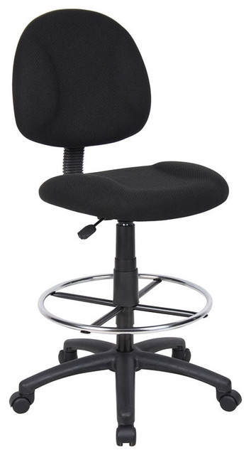 Boss Office Products B1615 Bk Boss Drafting Stool B315 Bk