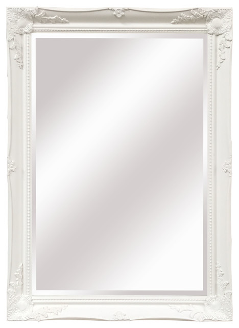 Maissance Large Wall Mirror, White.