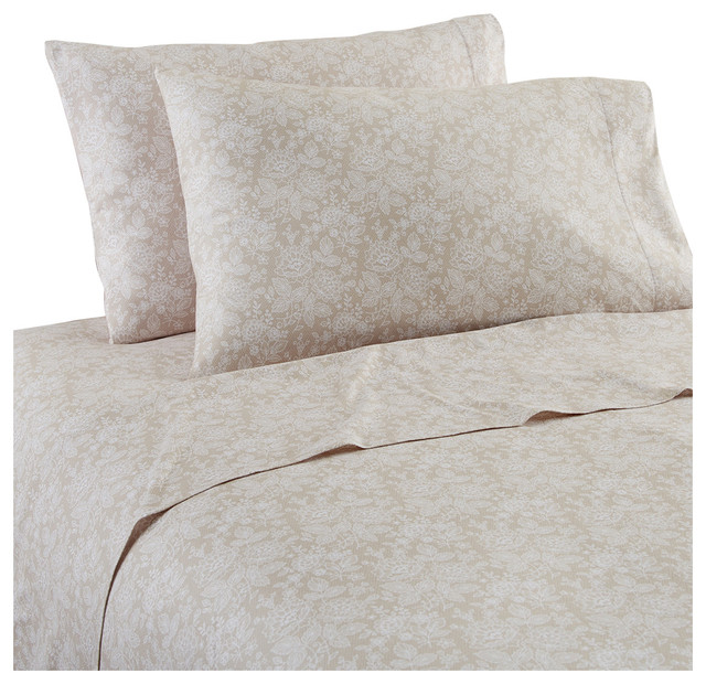 Shavel Home Products Enchantment Micro Flannel Sheet Set