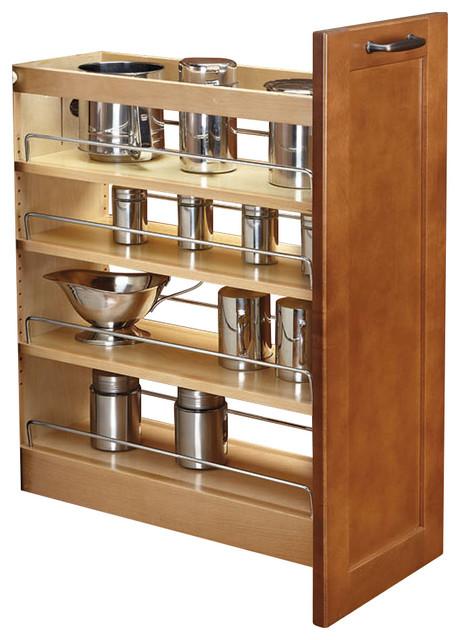 Rev-A-Shelf, 11 Base Cabinet Organizer Soft-Close, Natural, Natural, 14.