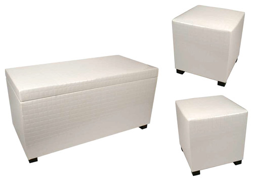 Manhattan Storage Seats, Set of 3
