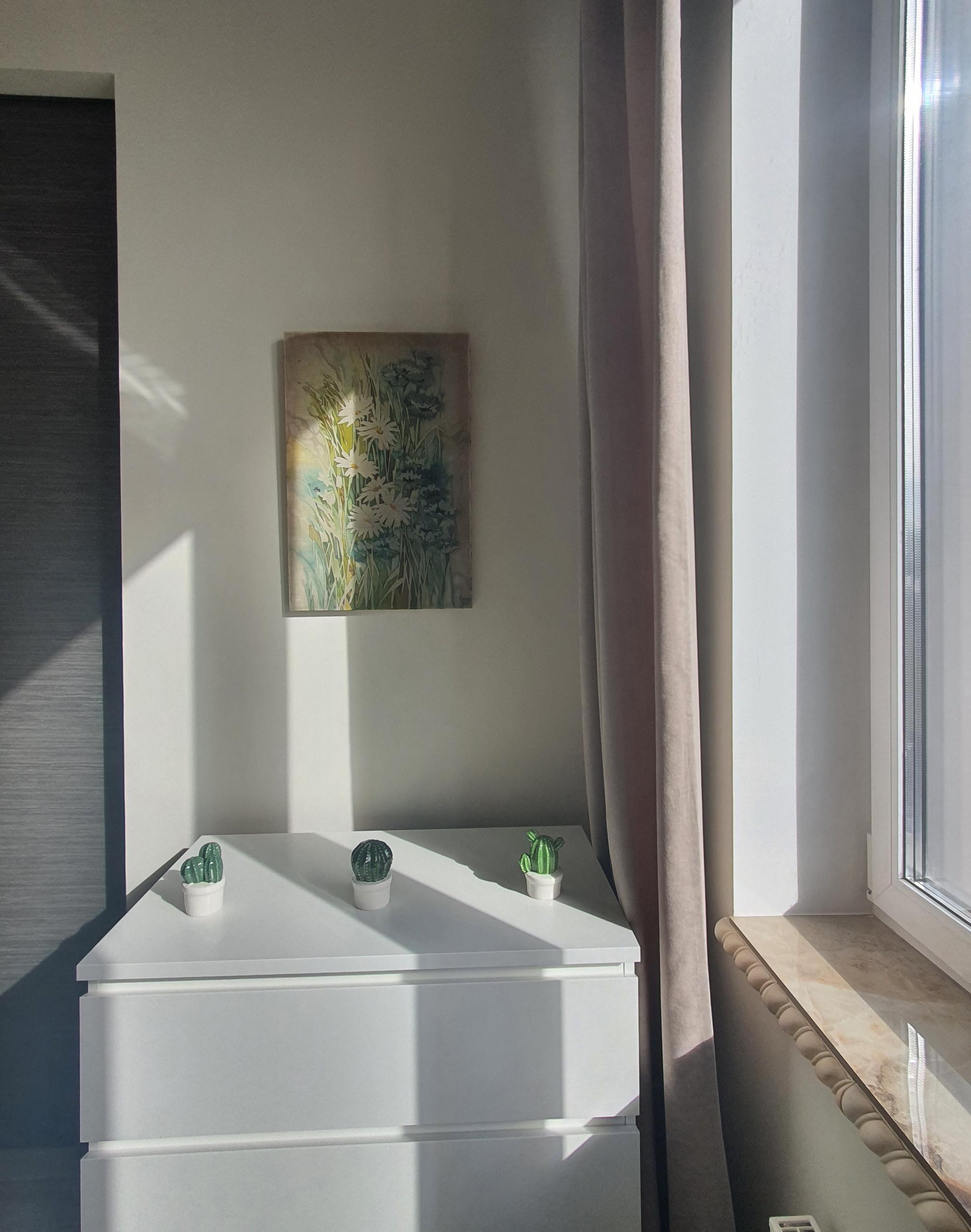Светлая квартира в Москве