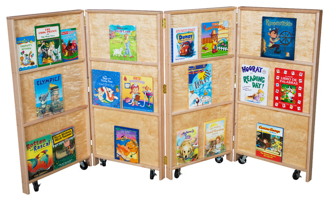 Mobile Bookcase by Wood Designs