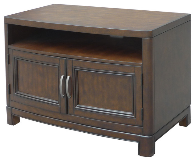 Shop Houzz Home Styles Furniture Crescent Hill Tv Stand 44 Entertainment Centers And Tv Stands