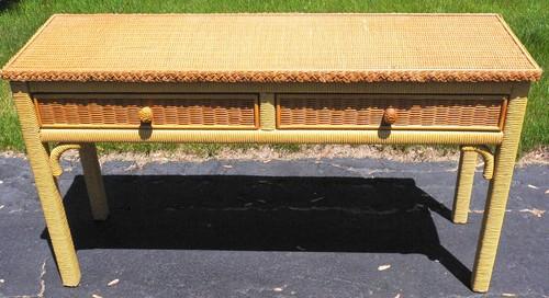 Henry Link Wicker 9 Piece Furniture Set Info