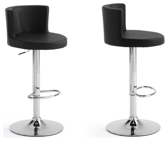 lot de 2 tabourets de bar design dossier antennae couleur. Black Bedroom Furniture Sets. Home Design Ideas