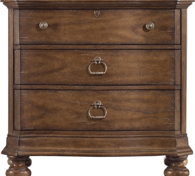 Stanley Furniture European Farmhouse #38: Stanley Furniture European Farmhouse Maisonette Bacheloru0026#39;s Chest Traditional-accent-chests-and-cabinets