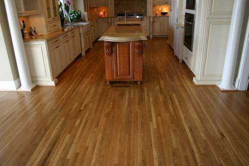 How to keep white oak floors from looking yellow when they Unstained hardwood floors