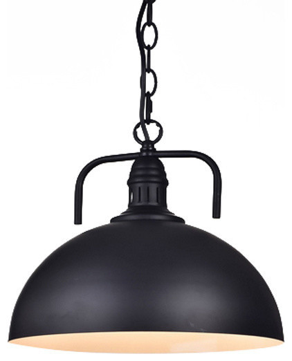 Industrial elegant black modern chain pendant lamp light industrial elegant black modern chain pendant lamp light aloadofball Image collections