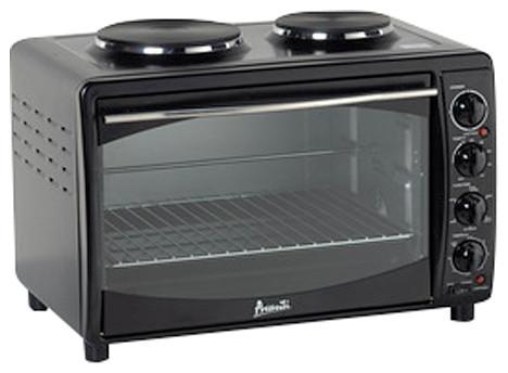 Avanti Mkb42b Black Oven Convection Toaster 2 Burners Mini