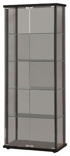 Shop Houzz   Coaster Fine Furniture 5 Shelf Glass Curio ...