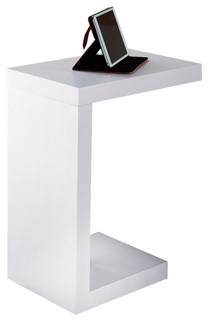 Accent Table, White.