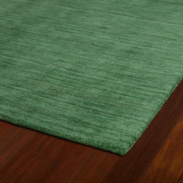 Kaleen Helena Turquoise Rug: Kaleen Hand Made Renaissance Wool Rug, Emerald