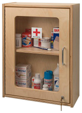 whitney brothers first aid wall cabinet medicine cabinets houzz. Black Bedroom Furniture Sets. Home Design Ideas