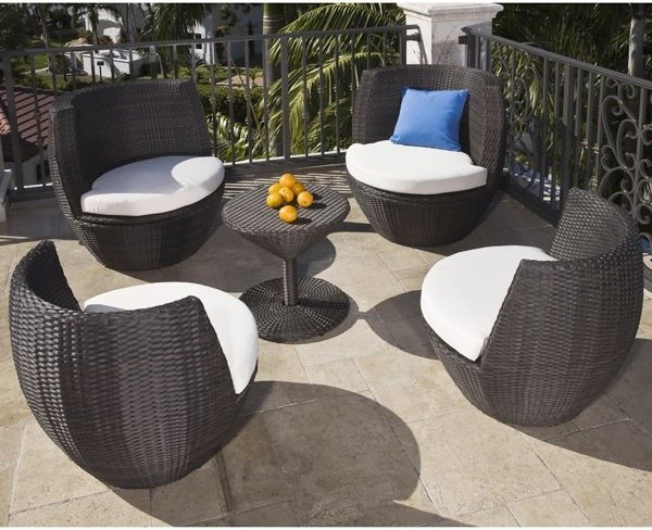 Shop HouzzHome Infatuation Stacking Outdoor Chair and Table Set
