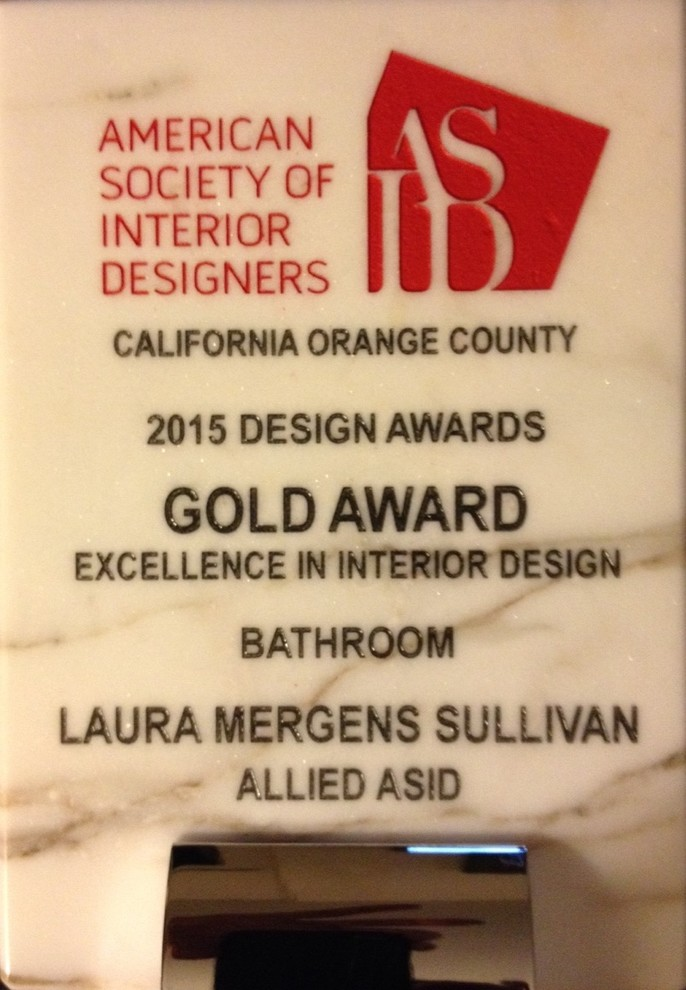 2015 ASID Gold Award in Excellence Bath
