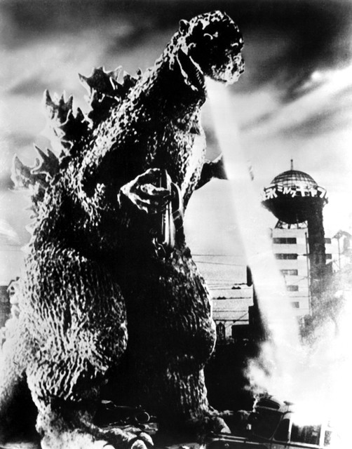 godzilla print midcentury prints and posters - Godzilla Pictures To Print