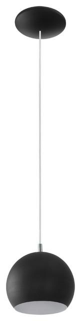 Eglo Lighting Petto 1-Light Pendants, Black.