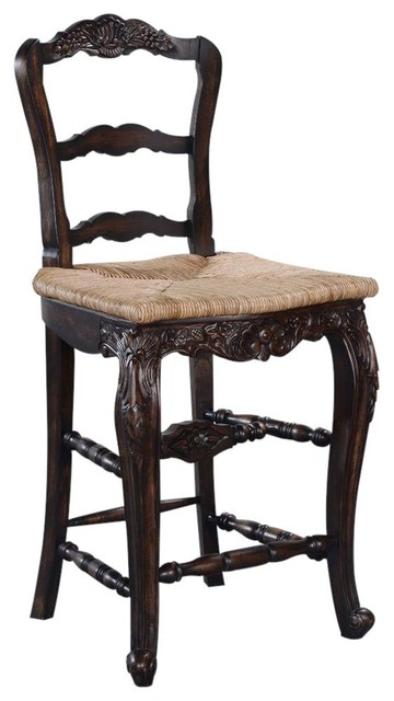 Groovy New Bar Height Stool French Country Carved Ncnpc Chair Design For Home Ncnpcorg