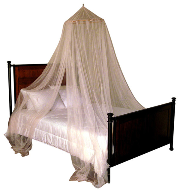 oasis round hoop sheer bed canopy bed accessories by
