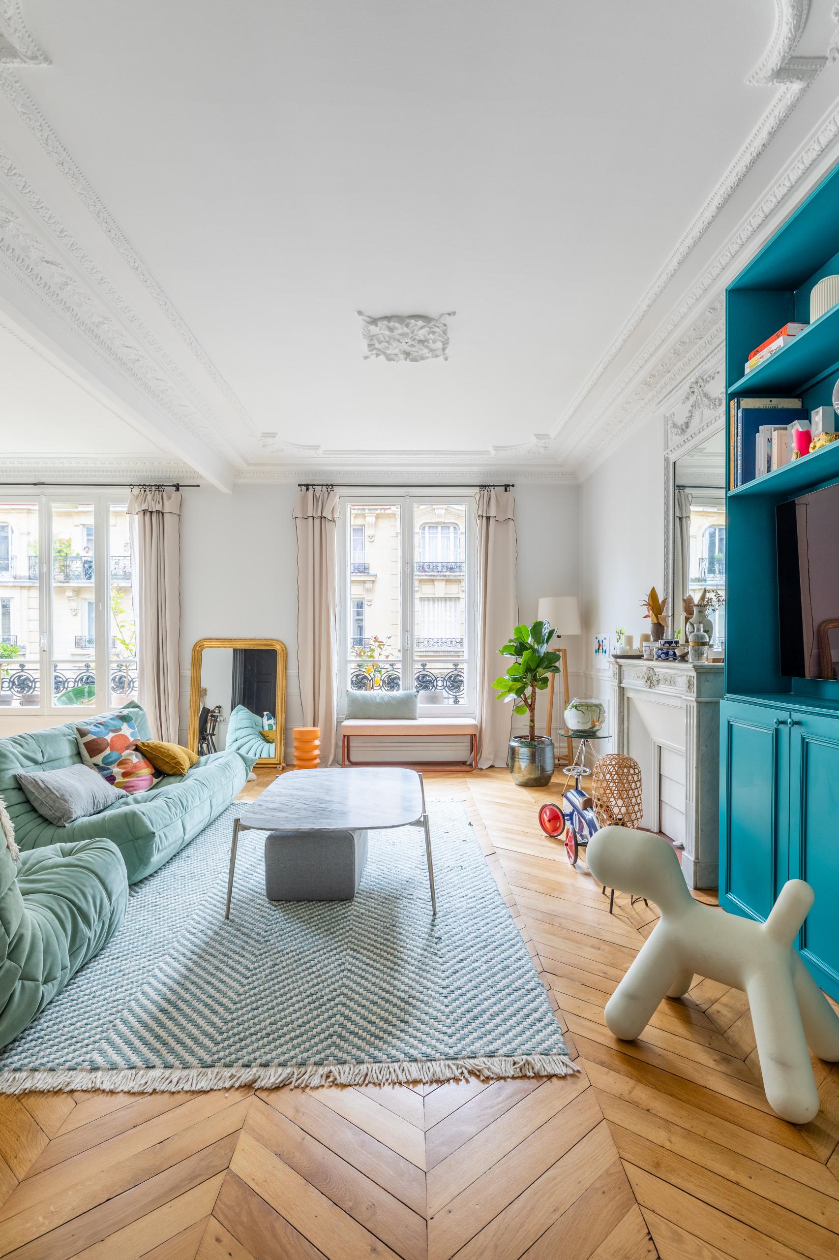 Appartement Michel Ange 140m2 à Paris 16 ème