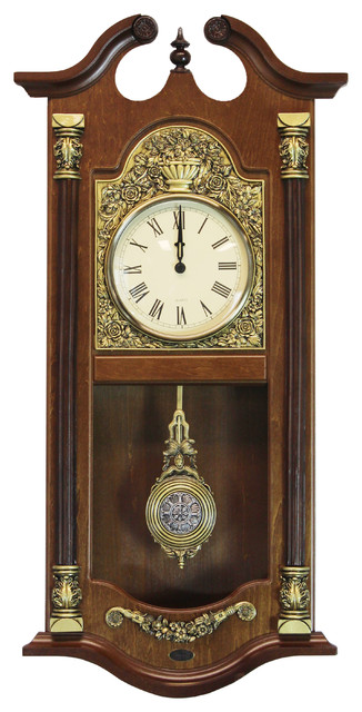 Uniquewise Large Traditional Solid Wood Pendulum Wall