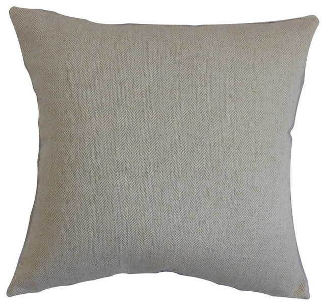 Davion Solid Pillow Gray - Contemporary - Decorative Pillows - by The Pillow Collection