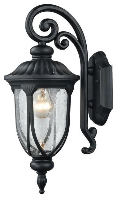 mediterranean outdoor lighting. elk lighting 871001 derry hill 1light outdoor wall mediterraneanoutdoor mediterranean l