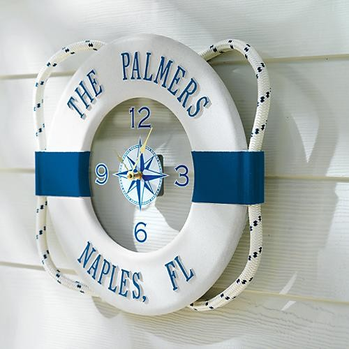 My nautical themed patio on pinterest nautical nautical for Anchor decoration