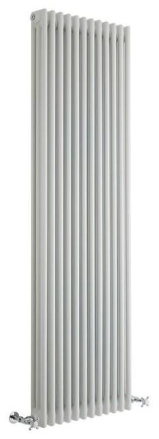 Regent, Traditional Metal 3 Column Vertical Cast-Iron Radiator.