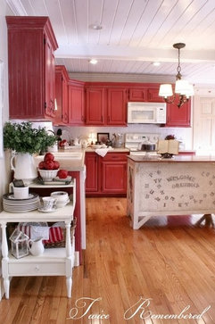 The Twice Remembered Cottage traditional kitchen
