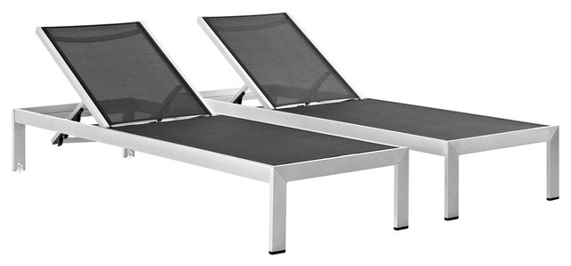 Modern Contemporary Urban Outdoor Patio, Contemporary Outdoor Chaise Lounge Chairs