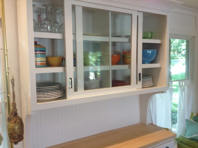 Sliding Glass Cabinet Doors Traditional Other By Marrs Trimworks - Kitchen cabinets with sliding doors