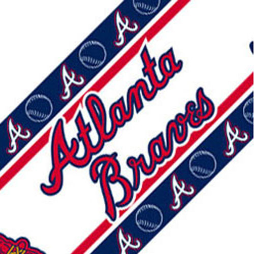 Mlb Atlanta Braves Self Stick Wall Border Contemporary