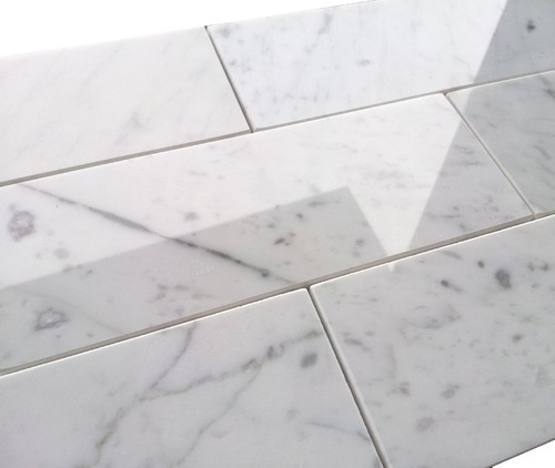 Grout color for Carrara Marble Tile?