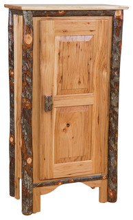 Furniture Barn USA Rustic Single Door Pie Safe - Pantry Cabinets   Houzz
