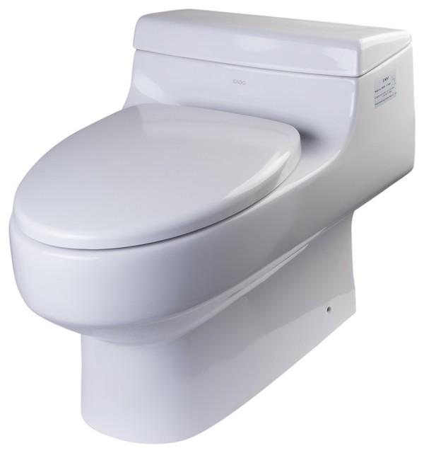 One Piece Ultra Low Single Flush Eco-Friendly Ceramic Toilet