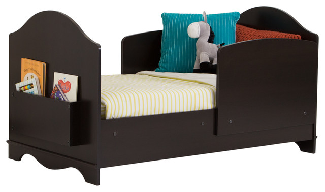 South Shore Savannah Toddler Bed Espresso Transitional Beds