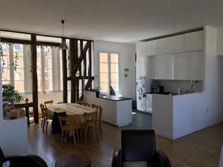 S parer la cuisine du salon avec une verri re for Separer cuisine du salon