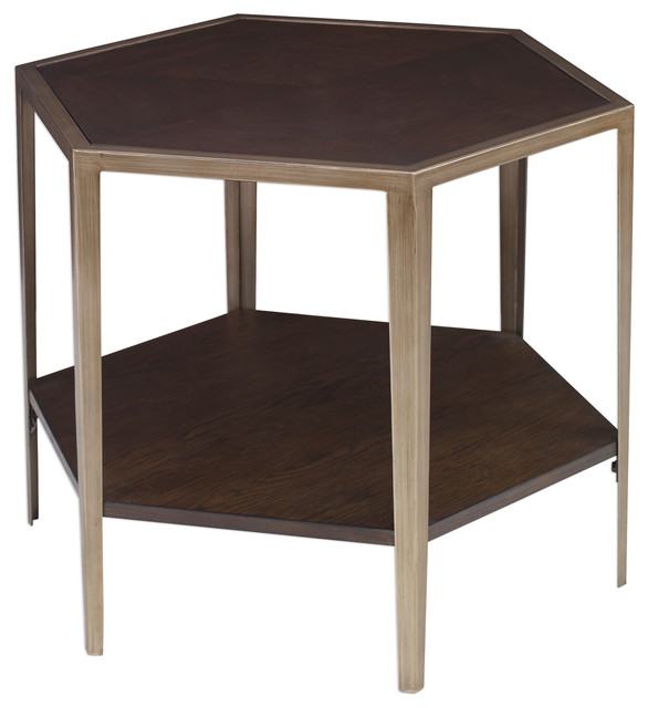 separation shoes 4cfde d7d7f Alicia Geometric Accent Table