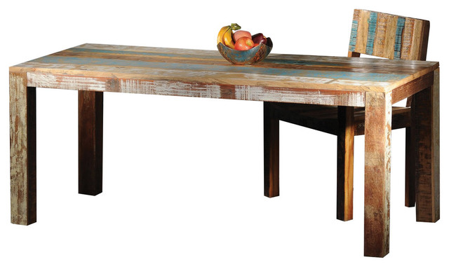 Pedro Mango Wood Dining Table Farmhouse Tables