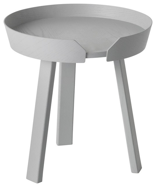 Muuto Around Grey Coffee Table Small