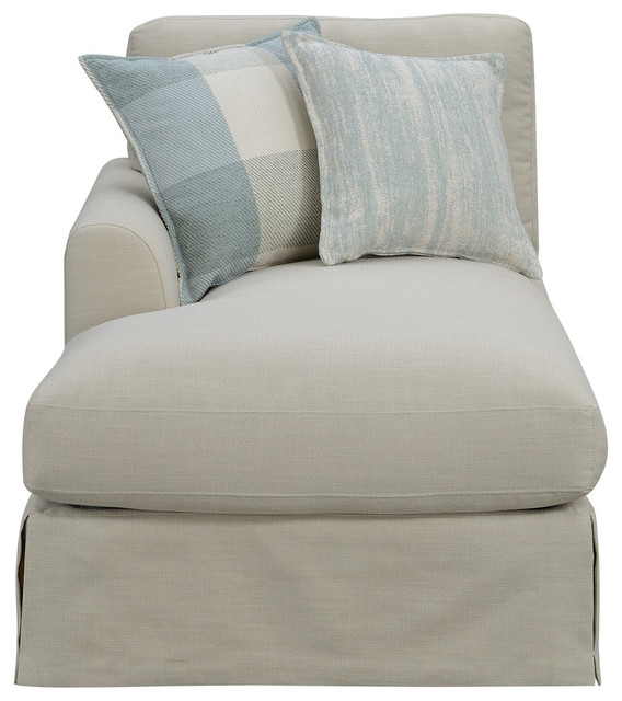 Emerald Home Charlotte Chaise, Natural by Emerald Home