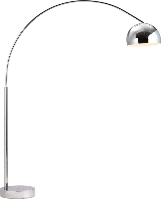 Galactic Floor Lamp Chrome Contemporary Floor Lamps