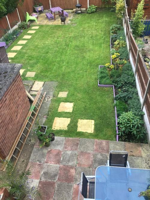 Rectangle garden help for Help me design a garden