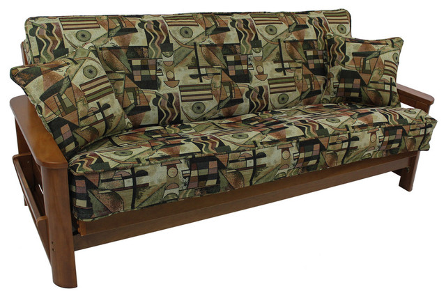 Patterned Tapestry Full Futon Cover Set Futon Covers