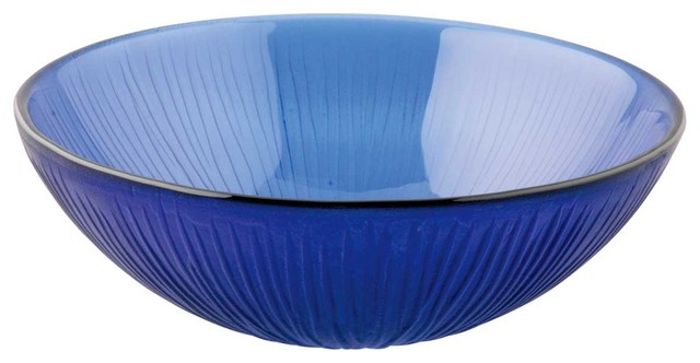 Tempered Glass Sink With Drain Frosted Blue Icicle Glass Bowl Sink Textured  Modern Bathroom