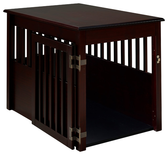 Ruffluv Pet Crate End Table Contemporary Dog