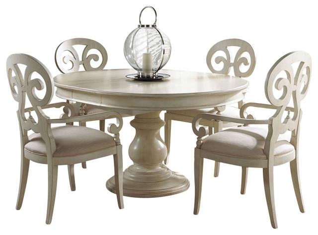 Shop Houzz | Fine Furniture Design Summer Home Round Dining Table ...