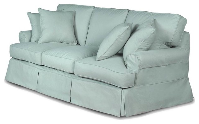 T Cushion Slipcovered Sofa Performance